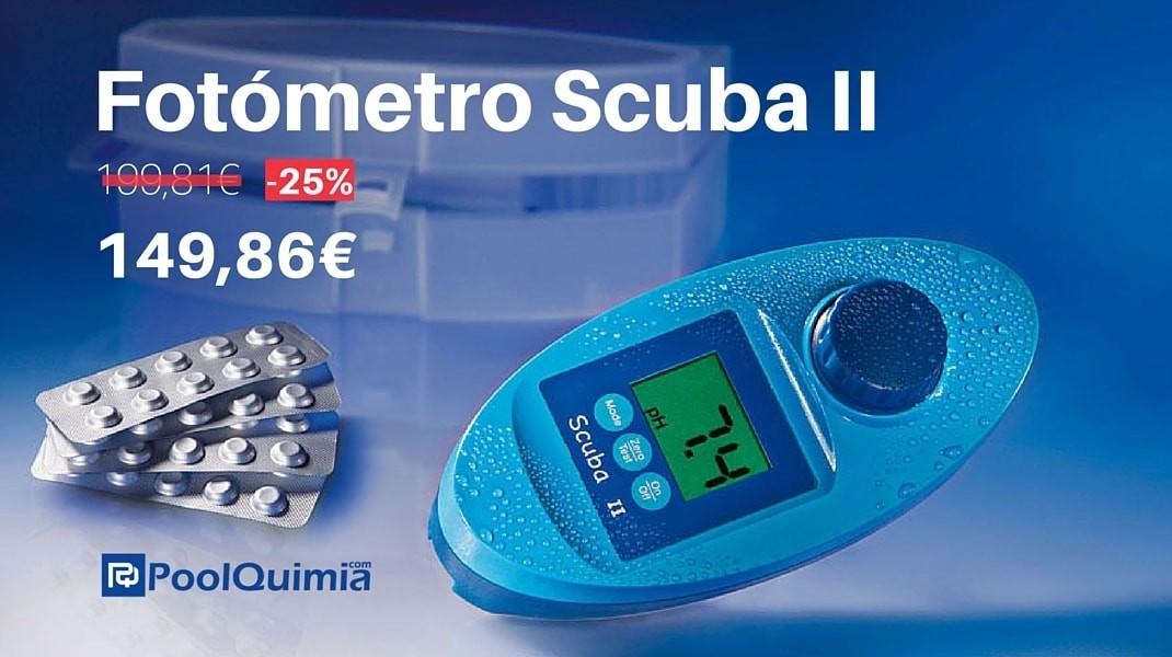 Fotómetro Scuba II